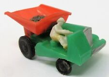 1960 Blue-Box 7423 DUMP TRUCK Hong Kong green orange plastic Matchbox Copy