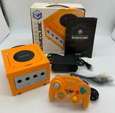 Nintendo GameCube  Controller Spice Orange Console NTSC-J Complete  with Box