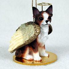 Chihuahua Dog Figurine Angel Statue Brindle
