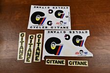 Gitane frame and promo stickers