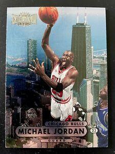 1997-98 MICHAEL JORDAN SKYBOX METAL UNIVERSE FOIL, MJ BULLS 90's 📈