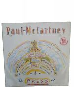 "Paul McCartney  Press 1986 [12R6133] 12"" Vinyl  Rock  Excellent Vinyl condition"