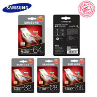 GENUINE 32GB/64GB/128GB/256GB Samsung EVO Plus microSD lot Memory Card 100MB/s