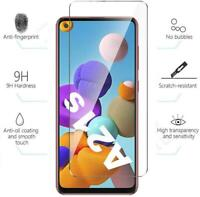 For Samsung Galaxy A21s, 9H Tempered Glass Screen Guard Protector (Pack Of 5)