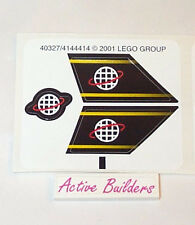 Lego STICKER SHEET - World / Planet Logo 6773 Airplane Tail Sign * NEW Condition