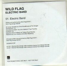 (CI549) Wild Flag, Electric Band - 2011 DJ CD