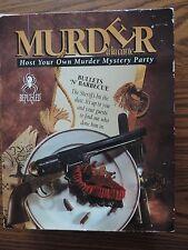 Murder a la Carte Bullets 'n' Barbecue Board Game Bepuzzled 1994 Cassette 1994