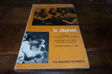 LA CHANSON : PANORAMA DE LA MUSIQUE - Livre / Book !!! S & J CHARPENTREAU !!!