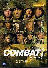 Combat - ABC TV Series  24 episodes 12 DVD Boxset - Vic Morrow Rick jason (NEW)