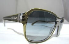 Chanel Sunglasses Glasses 5194 1259/3C Green Grey Authentic 57-16-135 Free Ship