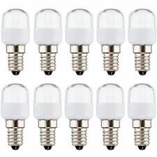 10 x LED Leuchtmittel Kühlschranklampe Röhre T25 1W = 10W E14 klar 75lm warmweiß