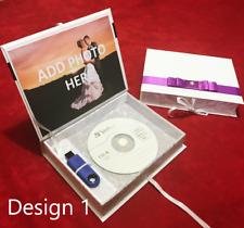 Handmade USB DVD CD Photo wedding presentation gift box album