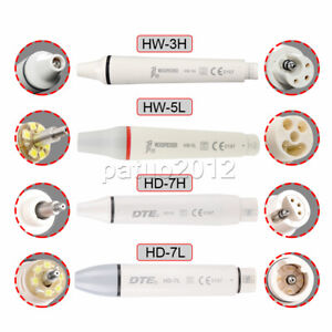 Ultrasonic Piezo Dental Scaler Handpiece LED light F/ EMS/WOODPECKER/DTE/SATELEC