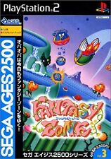 Used PS2 Sega AGES 2500 Series Vol. 3 Fantasy Zone SONY PLAYSTATION JAPAN IMPORT