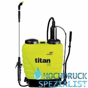 Rückenspritze, Sprühbehälter, Sprayer Titan 16 Liter, Dichtung Viton
