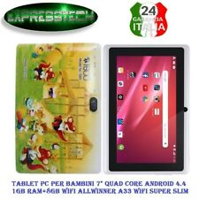 Tablet per bambini  Kids Education Tablet PC, 7.0 pollici, 1GB RAM+8GB, Android