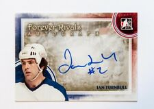 IAN TURBULL 11/12 ITG FOREVER RIVALS AUTOGRAPH CARD TURNBULL MAPLE LEAFS A-11
