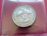 JOHN PAUL JONES - Mint Shell 1960s Famous Americans Coin Series