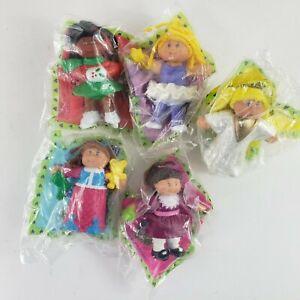 VTG 1992 Cabbage Patch Kids Complete Set McDonald's Happy Meal Figures SEALED