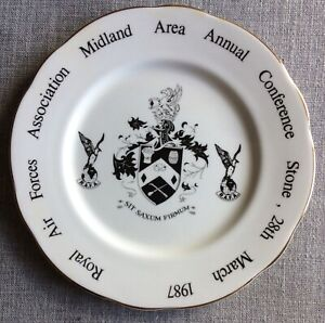 RAF Royal Air Force Midland Area Annual Conference 1987 Collectors Plate
