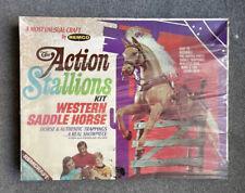 New listing Remco 1969 - Action Stallion Kit - Western Saddle Horse New -