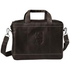 NWOT authentic longchamp Mocha Cavalier leather document holder laptop case $695