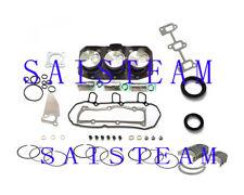 Yanmar  3TN75 Engine rebuild kit replace parts for Excavator Tractor Case etc