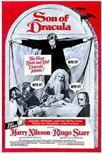 SON OF DRACULA Movie MINI Promo POSTER Harry Nilsson Ringo Starr Dennis Price