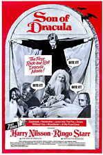 SON OF DRACULA Movie MINI Promo POSTER Harry Nilsson Ringo Starr Dennis Price