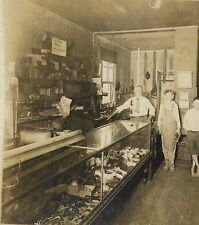 ca. 1910 Sellersburg Clark County Indiana Leather Goods store; WILLIAM ENGELHART