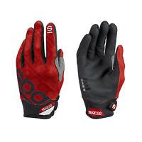 Neu Sparco Mechaniker Handschuhe MECA-3 rot (8)