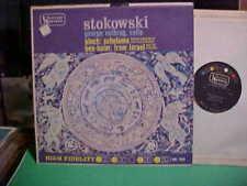 LEOPOLD STOKOWSKI LP BEN-HAIM FROM ISRAEL GEORGE NEIKRUG CELLO RECORD VINYL