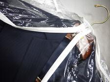 New 2 Pcs Garment Bag 24x40 3-MIL Clear Vinyl ~ Front Zipper  ~ Set of Two ~ New