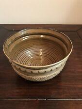 Handmade Art pottery Bowl Signed