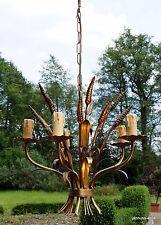 alte exclusive Deckenlampe aus Metall geschmiedet Handarbeit sehr dekorativ