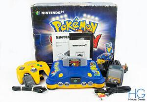 Nintendo 64 N64 Pokemon Stadium Battle Set Boxed Bundle! PAL