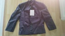 Waist Length Linen No Pattern None Coats & Jackets for Women