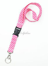 Multi Colors Fabric LANYARD with Detachable Buckle for ID Badge Holder