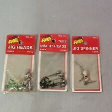 Arkie Jig Spinner Tube Insert Heads Jig Heads Fishing Tackle Mix Lot New