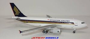 NEW 1:200 JC WINGS SINGAPORE AIRLINES AIRBUS A310-300 9V-STP MODEL EW2313001