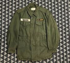Vintage Og 107 Sateen Field Military Army Parka Jacket 60s 1960 Vietnam Small