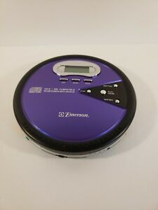 Emerson HD8150BL CD/RW Anti-skip CD Player Purple New and Never Used!!!