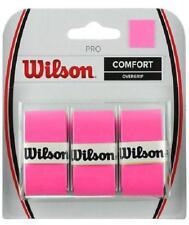 Overgrip Tennis WILSON Pro Overgrip Fuxia n.1 confezione da 3