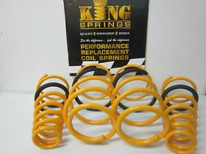 Ultralow Lowered Front & Rear KING Springs suit WM V6 Statesman & Caprice Models