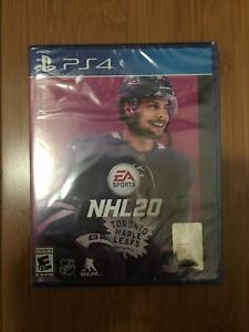 NHL 20 Sony PlayStation 4 PS4 Brand New Factory Sealed Hockey 2020
