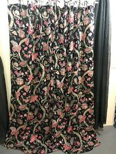 World Market Pair Paradise Floral Curtains 84 Inch