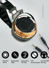Sendy Audio PHOENIX OVER THE EAR OPEN BACK ZEBRA WOOD DYNAMIC/MOVING-COIL DRIVER