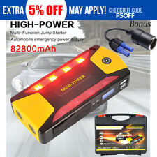 82800mAh Car Jump Starter Pack Portable Charger Booster Power Bank Battery SOS