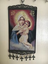 Woven Religious tapestry wall hanging orthodox catholic icon Style 1025
