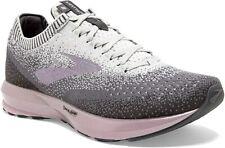 Brooks Women's Levitate 2 Running Shoe, Grey/Grey/Rose, 7 B(M) US